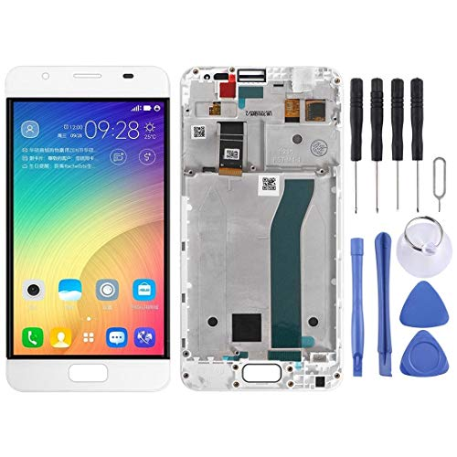 TANNGDIFNJAUN Replacement LCD Screen LCD Screen and Digitizer Full Assembly with Frame for ASUS ZenFone Pegasus 4A ZB500TL X00KD Repair Spare Parts