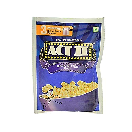 kraft india Act II Magic Butter Flavour 3 Minutes (40gm) -Pack of 15