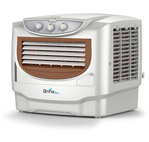 Havells Brina Plus Window Air Cooler - 50 Litres (White, Brown)