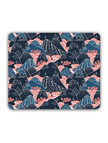 Madanyu Designer Mousepad Non-Slip Rubber Base for Gamers - HD Print - Oriental Mountains