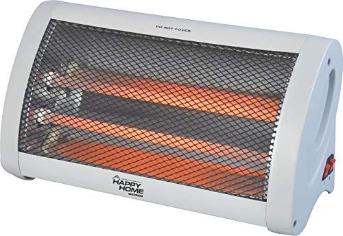 Kenvi US || IS Laurels || Happy Home Quartz/Halogen Heater || Double Rod || Limited Edition || 1 Season Warranty || Make in India || Model- Riya || R874