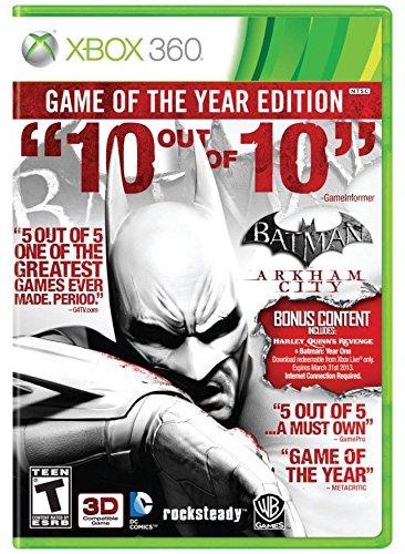 Warner Bros. Interactive Batman Arkham City - Game of the Year Edition (Xbox 360)