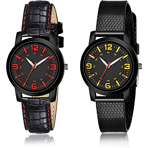 NEUTRON Analogue Analogue Black Color Dial Women Watch - (47-L-4)-(48-L-10) (Pack of 2)