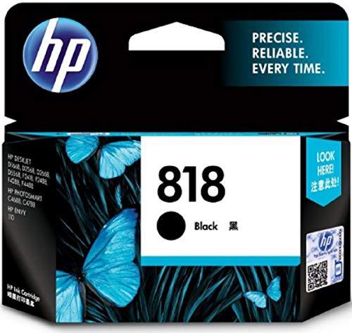 HP 818 Black Ink Cartridge CC640ZZ