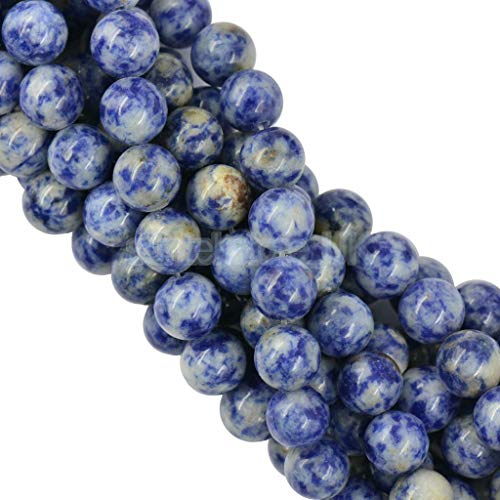 "ELECTROPRIME 10mm Precious Jasper Gemstone Rounds Beads for Jewellery Making 15"" Strand"