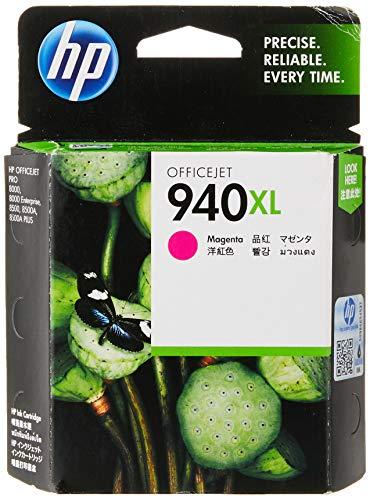 HP 940XL Office Jet Ink Cartridge, Magenta