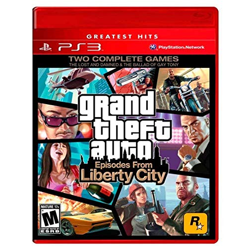 ROCKSTAR GRAND THEFT AUTO EPISODES FROM LIBERTY CITY PS3