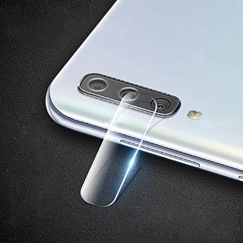 TANGDINGJUANG Mobile Back Camera Lens Protector for Galaxy A50s 0.15mm 9H Round Edge Rear Camera Lens Tempered Glass Film
