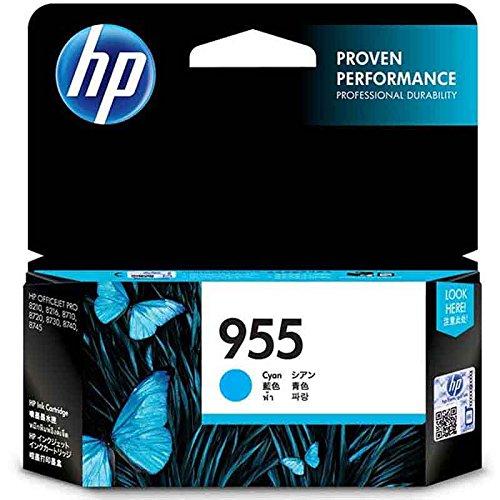 HP 955 Cyan Original Ink Cartridge (L0S51AA)
