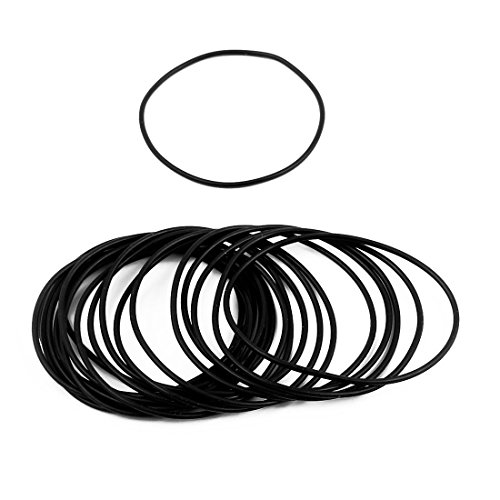 Sellify 30 Pcs 40mm x 1.5mm Rubber O-Rings NBR Heat Resistant Sealing Ring Grommets