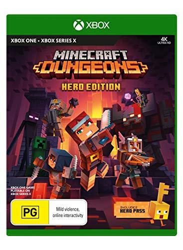 MOJANG STUDIOS Minecraft Dungeons Hero Edition (Xbox One xbox series X)