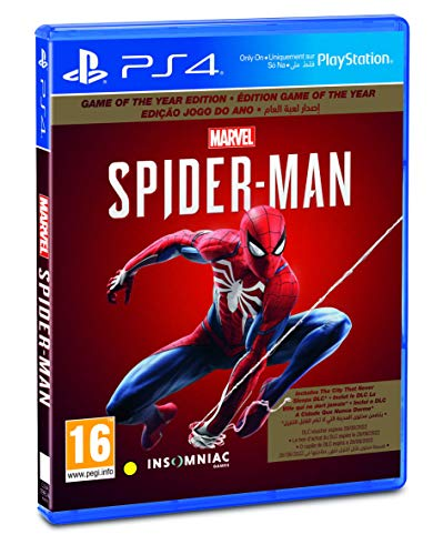 Sony Marvel's Spider Man (PS4) - Game of the Year Edition (PS4)