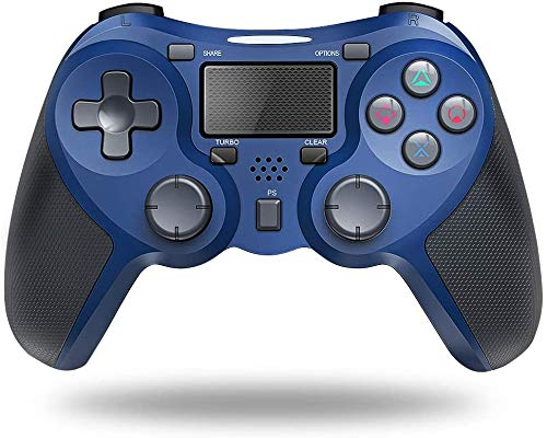 New World PS4 Wireless Controller PS4 Gamepad Joystick Compatible With PlayStation 4 Game Controllers For PS4 Pro/Ps4 Slim, Built-In Speaker & Stereo Headset Jack touch Pad