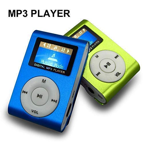 M Tech Small Digital Display Mini Mp3 Player (Multi color)