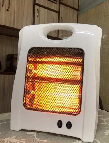 2 Rod (Coil) Room Halogen Heater 800 Watts Multicolored