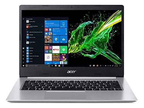 Acer Aspire 5 A514-53 14-inch Laptop (10th Gen Core i5-1035G1 processor/8GB/512FB SSD/Window 10 Home 64Bit/Intel UHD Graphics), Pure Silver