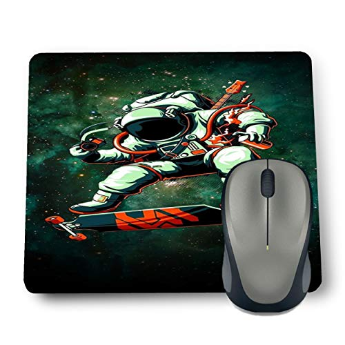 Shop-buz Printed Non Slip Rubber Astro Skade MP43 Designer Mouse Pads (220 mm x 180 mm x 3 mm) Multicolor