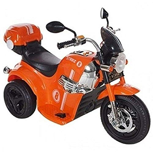 PP INFINITY Bike Battery Operated Ride On (Orange)