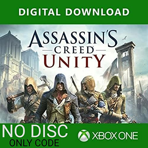 UBI Soft Assassin's Creed Unity: Xbox One (XBOX STORE DOWNLOAD CODE - NO CD/DVD)