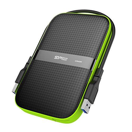 Silicon Power 5TB Portable External Hard Drive (Black)