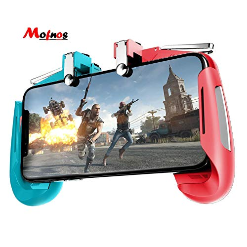 MOFNOS AK16 Telescopic Mobile Phone Gamepad Joystick Handle L1 R1 Trigger for PUBG Durable