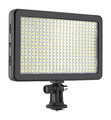 Simpex LED 406 Dual Colour Professional LED Video Light with Battery 550 and Fast Charger Ideal for Photography and Videography