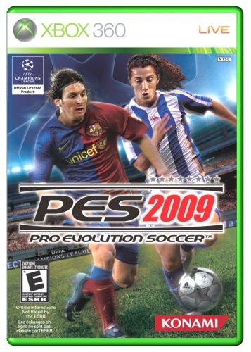 Konami Pro Evolution Soccer 09 - Xbox 360