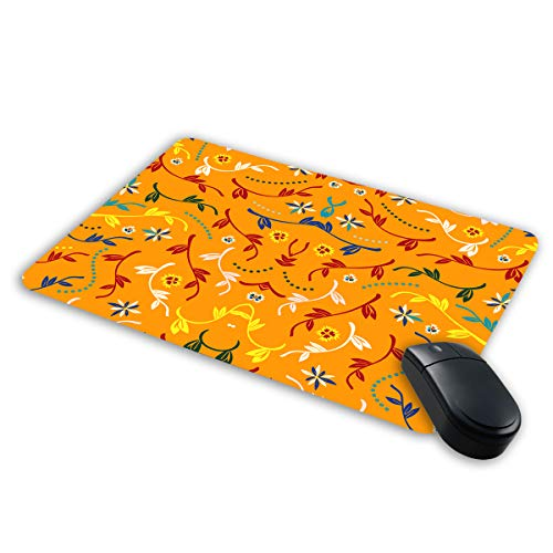 Wakandian Tech Mousepad for Computer and laptops | Designer Print Mousepad | Floral Print Mouse pad