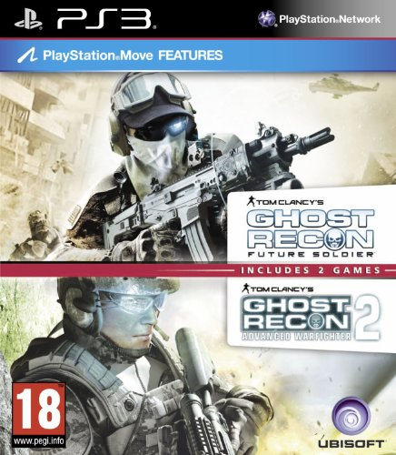UBI Soft Tom Clancys Ghost Recon Double Pack - Includes Ghost Recon Future Soldier & Advanced Warfighter 2 (PS3) (UK)