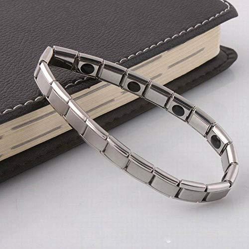 ELECTROPRIME 0215 Bracelet Bangle LH Hematite Women Accessories Silvery Jewelry Health Care