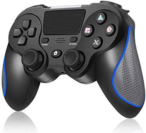 New World PS4 Controller Wireless Bluetooth Controller Joystick For PS4 Playstation 4 FAT SLIM PRO with Six-axis, Bluetooth,with Motion and Audio Function, Mini LED Indicator, USB Cable