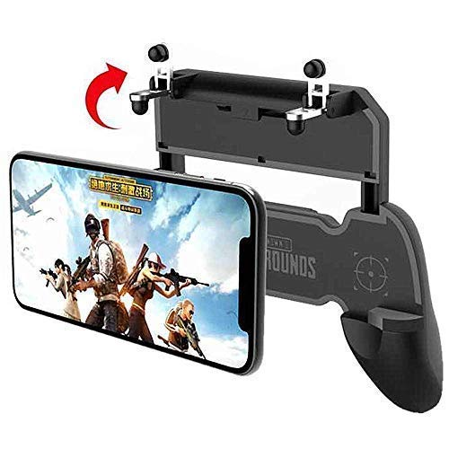 ITOKO® W10 Joystick Gamepad Controller with Triggers and Easy Physical L1 R1 Keys Joystick triggers for Mobile Phone