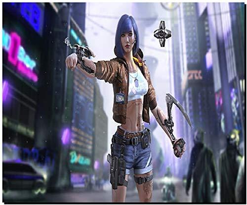 SKY DOT Cyberpunk 2077 Video Games Cyborg Video Game Art Futuristic Multicolor Mousepad