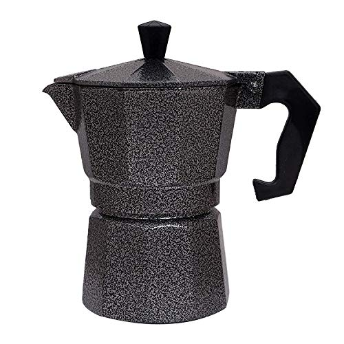 3d Creations 3dCreations Aluminium 6 Cups Aluminum (Polished) South Indian Filter Degree Kaapi/Coffee Machine or Percolator/Perculator Or Italian Espresso Or Decoction Coffee Maker Cup or Moka/Mocha Maker