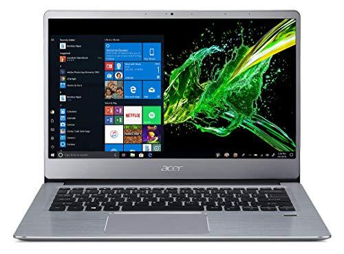 Acer Swift 3 Athlon SF314-41 14-inch Thin and Light Notebook (AMD Athlon 300U Dual Core Processor/4 GB/1 TB HDD/ Windows 10/AMD Radeon Vega Mobile Graphics), Sparkly Silver