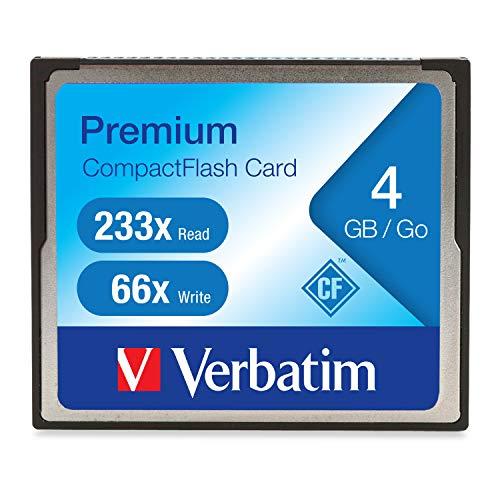 Verbatim 4GB Premium CompactFlash Memory Card 95500