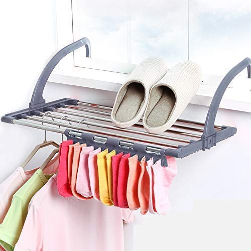 FASTUNBOX (LABEL) Folding Cloth Dryer Stand | Laundry Hanger | Laundry Drying Rack | Heavy Duty Cloth Dryer Stand | Rust Free Cloth Dryer Stand