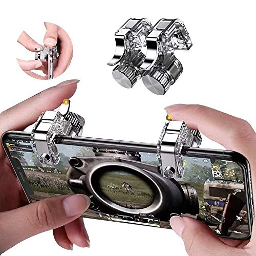 Meyaar M249 Pubg Trigger for Pubg Mobile ● PUBG Mobile Controller Trigger ● Claw Specialist ● for All Android and iOS Devices (M249)