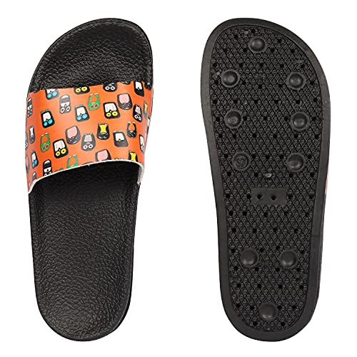 Fashimo Women's Flip Flop Penguin-Orange-41