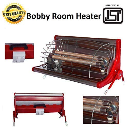 XODI Laurels & Gold Star BOBBY ROOM HEATER || ISI Approved (IS:368) || Double Road