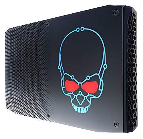 Intel NUC NUC8I7HVK Mini PC, Intel QuadCore i7-8809G Upto 4.2GHz, 32GB DDR4, 500GB NVMe SSD, AMD Radeon RX Vega M GH, WiFi, Thunderbolt 3, 4k Support (32GB Ram + 500GB NVME SSD + Windows 10 Pro)