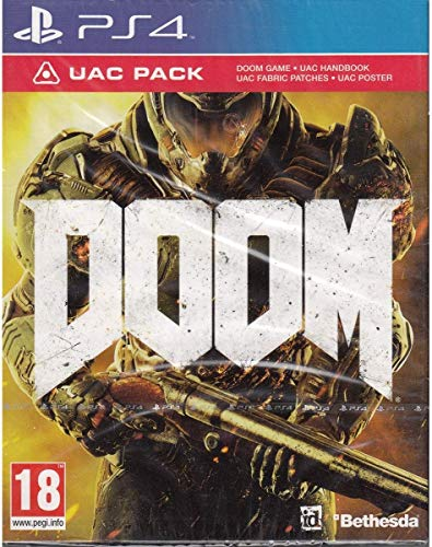 Bethesda Doom with UAC Pack Edition PS4 Playstation 4 Game
