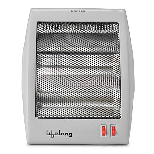 Lifelong Quartz Room Heater, Ivory (800W)