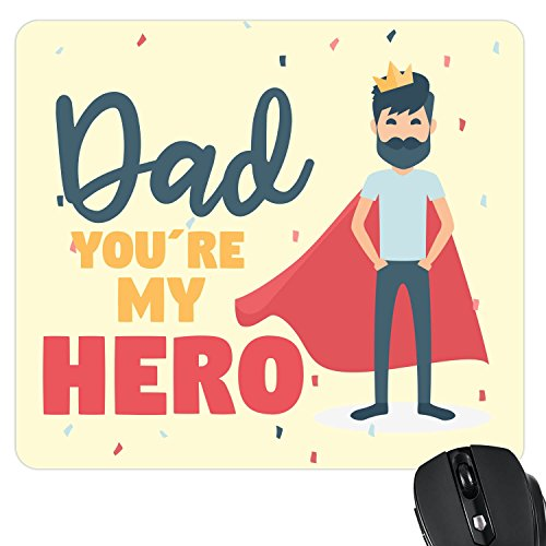 YaYa cafe You are My Hero Dad Printed Mouse Pad for Dad