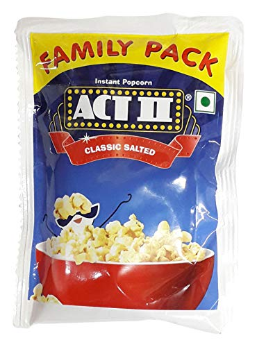 Act II Instant Popcorn - Classic Salted, 120g