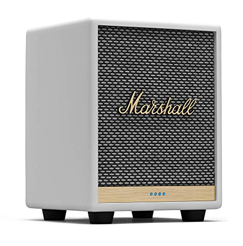 Marshall Uxbridge Home Voice Speaker with Amazon Alexa Built-in,White