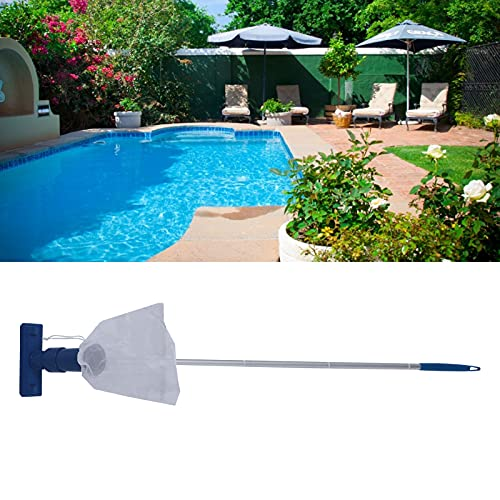 Tand Swimming Pool Vacuum, 46.7x8.7x7.3in Pool Cleaner Cleaning Tool Drawing Leaves for Swimming Pool