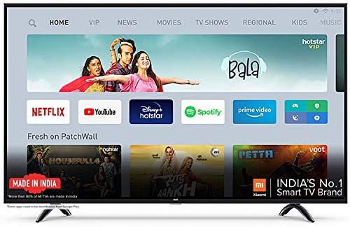 Xiaomi Mi TV 4X 138.8 cm (55 Inches) Ultra HD Android LED TV (Black)