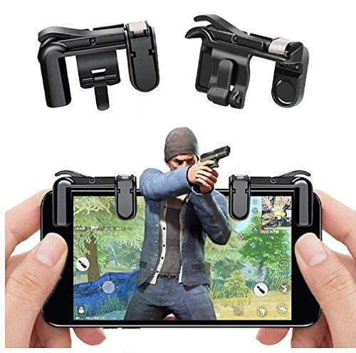 KECINOVA ENTERPRISE PUBG Gaming Joystick for Mobile || Trigger for Mobile Controller || Fire Button Assist Tool Smartphone L1R1 Trigger for Android/iOS