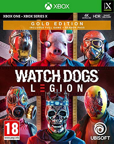 UBI Soft Watch Dogs Legion: Gold Edition (Xbox One)